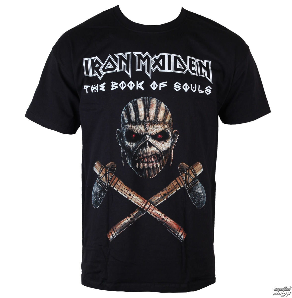 tricou stil metal Iron Maiden - Axe - ROCK OFF