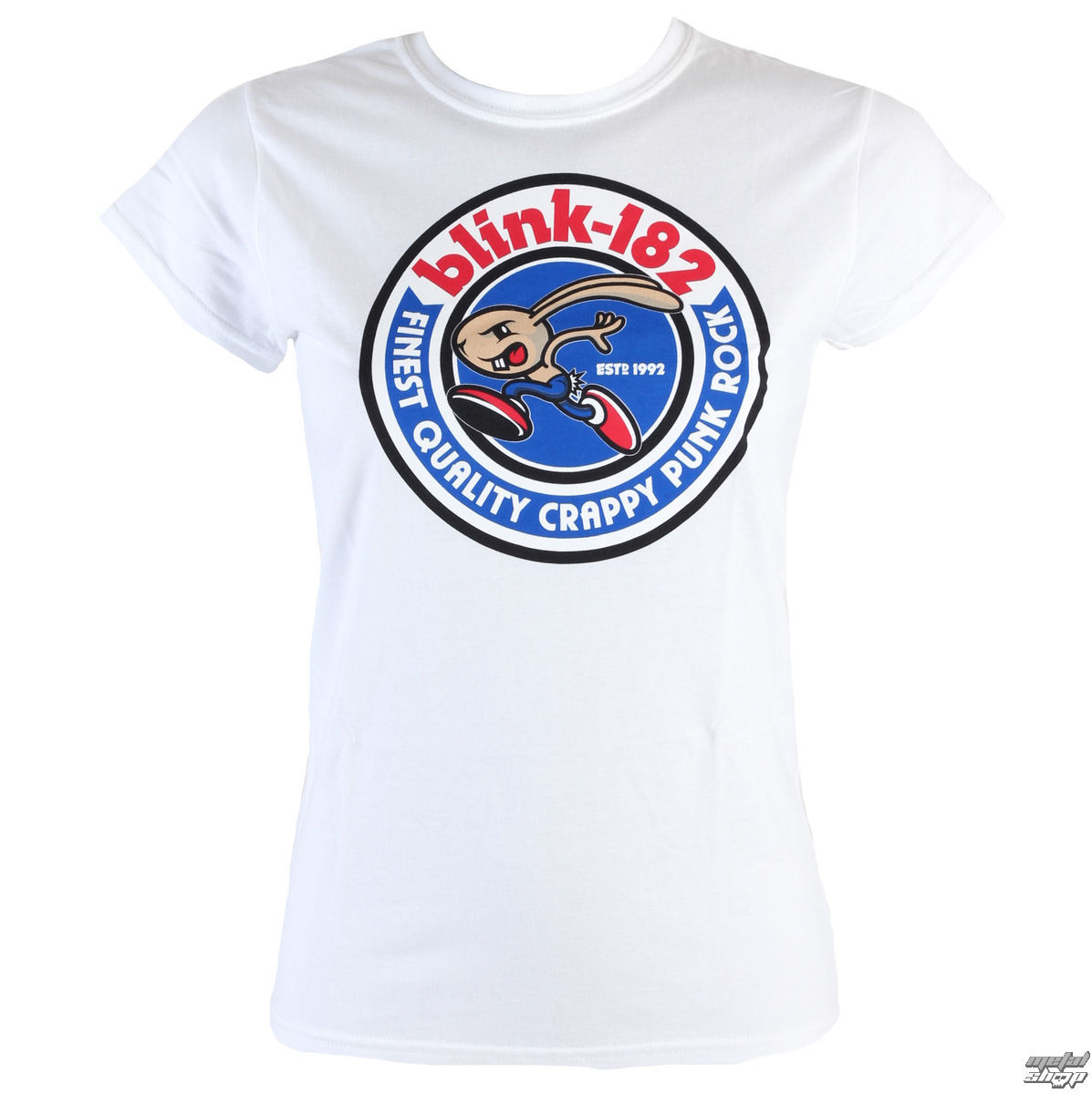 tricou stil metal femei Blink 182 - Bunny Seal - LIVE NATION