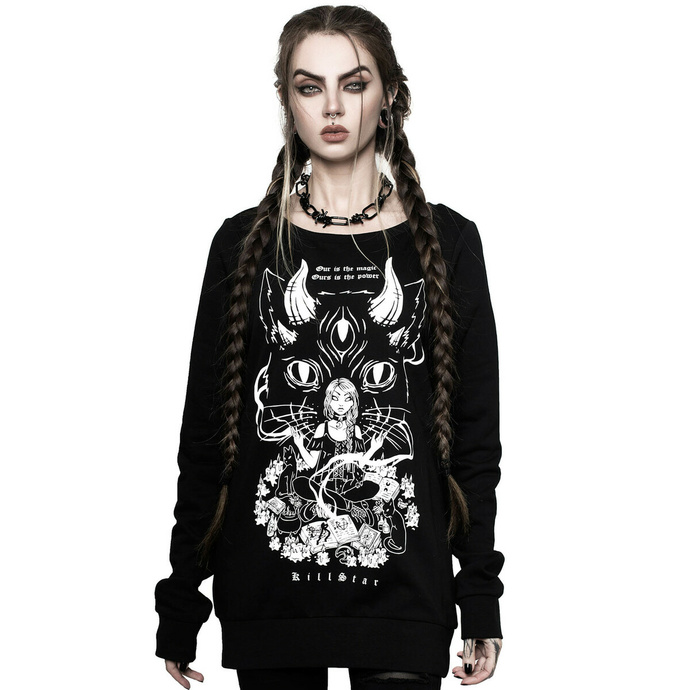 Hanorac cu glugă KILLSTAR unisex - Cat Lord