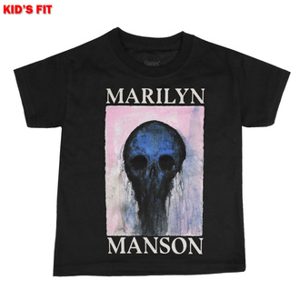 Tricou pentru copii Marilyn Manson - Halloween Painted Hollywood - ROCK OFF, ROCK OFF, Marilyn Manson