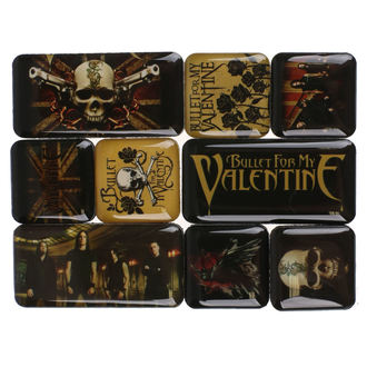 Magnet (set) Bullet For My Valentine, NNM, Bullet For my Valentine
