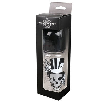Biberon bebeluș (300ml) ROCK STAR BABY - TATOO, ROCK STAR BABY