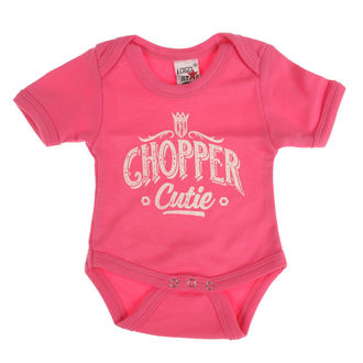 Body copii WEST COAST CHOPPERS - ONESIE CHOPPER CUTIE BABY CREEPER - Trandafir, West Coast Choppers