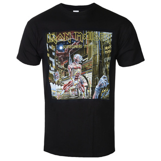 tricou stil metal bărbați Iron Maiden - Somewhere In Time - ROCK OFF, ROCK OFF, Iron Maiden