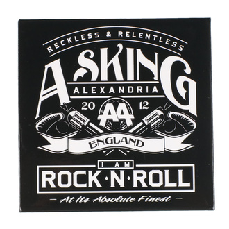 Magnet Asking Alexandria - ROCK OFF, ROCK OFF, Asking Alexandria