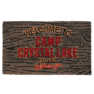 Covor de intrare Friday the 13th - Doormat Welcome To Camp, NNM, Friday the 13th