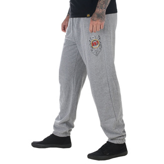 Pantaloni bărbătești (pantaloni de trening) SLAYER - DIAMOND - Sclipitor Abis - HTH Gri, DIAMOND, Slayer