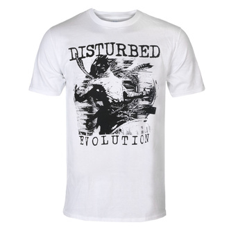 Tricou bărbătesc Disturbed - Sketch - WHT - ROCK OFF, ROCK OFF, Disturbed