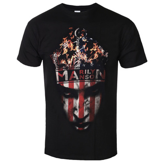 Tricou bărbați Marilyn Manson - Crown - ROCK OFF, ROCK OFF, Marilyn Manson