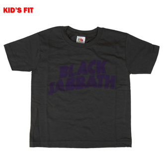 Tricou copii Black Sabbath - Wavy Logo - ROCK OFF, ROCK OFF, Black Sabbath