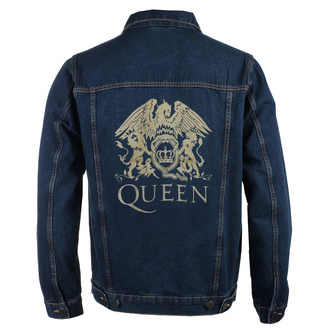 Geacă bărbați Queen - Classic - DENIM - ROCK OFF, ROCK OFF, Queen
