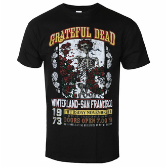 Tricou Grateful Dead pentru bărbați - San Francisco - ROCK OFF, ROCK OFF, Grateful Dead