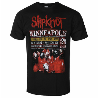 Tricou Slipknot pentru bărbați - Minneapolis '09 - ROCK OFF, ROCK OFF, Slipknot