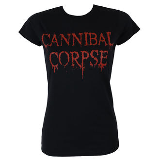 tricou stil metal femei Cannibal Corpse - DRIPPING LOGO - PLASTIC HEAD, PLASTIC HEAD, Cannibal Corpse