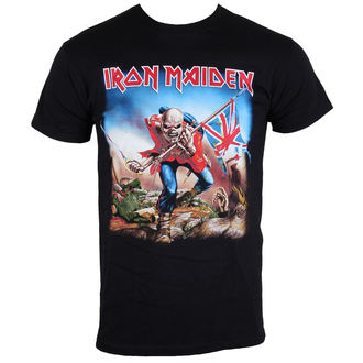 tricou stil metal bărbați Iron Maiden - The Trooper - ROCK OFF - IMTEE03MB