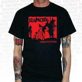 tricou stil metal bărbați Rancid - Indestructible - RAGEWEAR, RAGEWEAR, Rancid