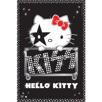 poster buna Kitty - Pup Tur - Nu Germania - GB posters, HELLO KITTY, Kiss