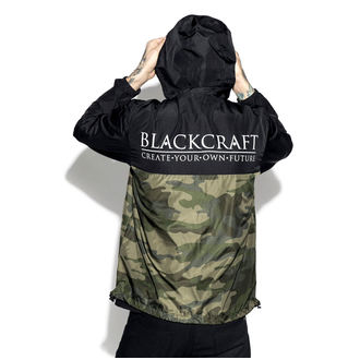 Geacă primăvară/ toamnă unisex - Staple Black on Camo - BLACK CRAFT, BLACK CRAFT