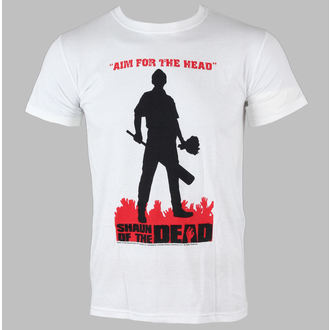 tricou stil metal bărbați Shaun Of The Dead - Silhouette - LIVE NATION, LIVE NATION, Shaun Of The Dead