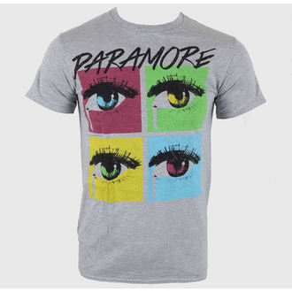 tricou stil metal bărbați Paramore - Pop Tear Sports Grey - LIVE NATION, LIVE NATION, Paramore