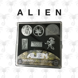 Insigne (set 6 bucăți) Alien - Limited Edition, NNM, Alien