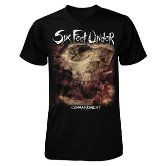 tricou stil metal bărbați Six Feet Under - Commandment - ART WORX, ART WORX, Six Feet Under