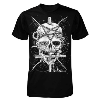 Tricou bărbătesc Six Feet Under - Penta Skull - ART WORX, ART WORX, Six Feet Under