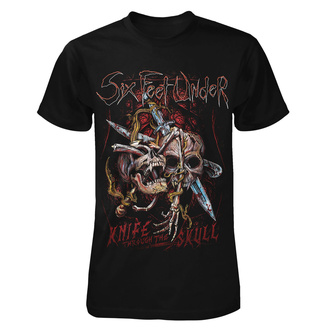 tricou stil metal bărbați Six Feet Under - Knife thru the Skull - ART WORX, ART WORX, Six Feet Under