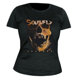 tricou stil metal femei unisex Soulfly - Savages - NUCLEAR BLAST, NUCLEAR BLAST, Soulfly