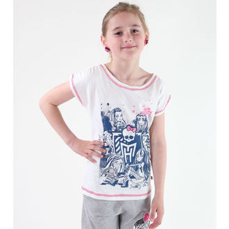tricou cu tematică de film bărbați copii Monster High - Monster High - TV MANIA, TV MANIA, Monster High