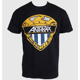 tricou stil metal bărbați femei unisex Anthrax - Eagle Shield - ROCK OFF, ROCK OFF, Anthrax