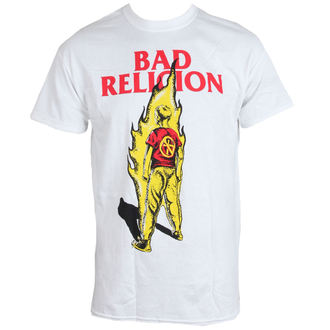 tricou stil metal bărbați Bad Religion - Flame - LIVE NATION, LIVE NATION, Bad Religion