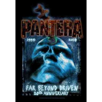 steag pantera - Departe Dincolo 20th Aniversare, HEART ROCK, Pantera