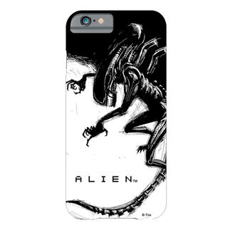 Husă protecţie mobil  Alien - iPhone 6 Plus Xenomorph Black & White Comic, NNM, Alien