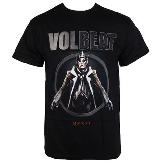 tricou stil metal bărbați Volbeat - RED KING-BLACK - BRAVADO, BRAVADO, Volbeat