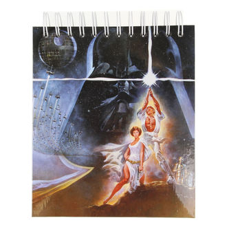 Notepad  STAR WARS - CHARACTERS - LOW FREQUENCY, LOW FREQUENCY, Star Wars