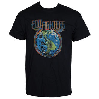 tricou stil metal bărbați Foo Fighters - Globe - LIVE NATION, LIVE NATION, Foo Fighters