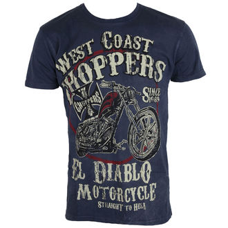 tricou bărbați - WCC EL DIABLO - West Coast Choppers, West Coast Choppers