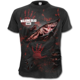 tricou cu tematică de film bărbați The Walking Dead - ZOMBIE - SPIRAL, SPIRAL, The Walking Dead