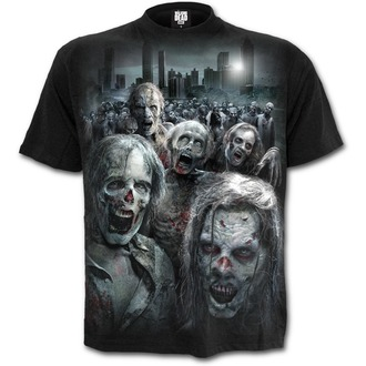 tricou cu tematică de film bărbați The Walking Dead - ZOMBIE HORDE - SPIRAL, SPIRAL, The Walking Dead