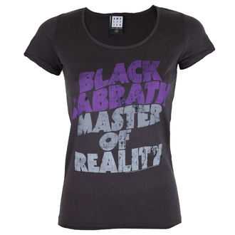 tricou stil metal bărbați femei Black Sabbath - BLACK SABBATH MASTER OF REALITY - AMPLIFIED, AMPLIFIED, Black Sabbath