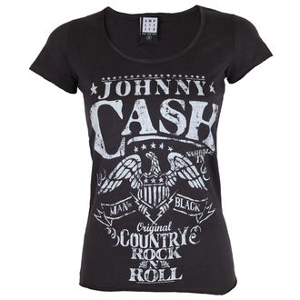 tricou stil metal femei Johnny Cash - JOHNNY CASH - AMPLIFIED, AMPLIFIED, Johnny Cash