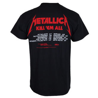 tricou stil metal bărbați Metallica - Kill 'Em All -, Metallica