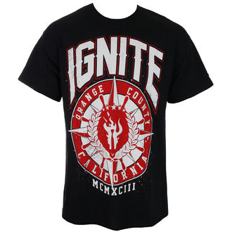 tricou stil metal bărbați Ignite - RED COMPASS - RAGEWEAR, RAGEWEAR, Ignite