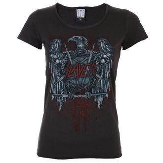 tricou stil metal femei Slayer - AMPLIFIED - AMPLIFIED, AMPLIFIED, Slayer
