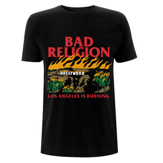 Tricou bărbați Bad Religion - Burning Black, NNM, Bad Religion