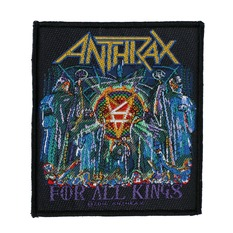 Petic ANTHRAX - FOR ALL KINGS - RAZAMATAZ, RAZAMATAZ, Anthrax