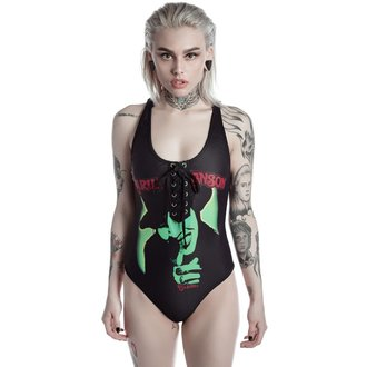 Costum de baie femei KILLSTAR - MARILYN MANSON - I Put A Spell On You - Black, KILLSTAR, Marilyn Manson