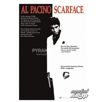 Poster Scarface (Movie One-sheet) - PP30091, PYRAMID POSTERS, Scarface