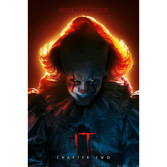 Poster Pennywise - COME BACK AND PLAY, PYRAMID POSTERS